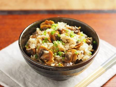 赤貝のフライパン炊き込みご飯15