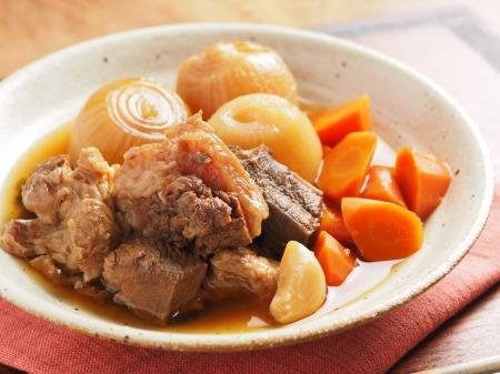 牛すじ肉の肉じゃが煮28