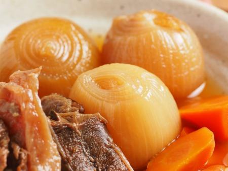 牛すじ肉の肉じゃが煮25