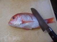 フライパンで連子鯛煮付け22