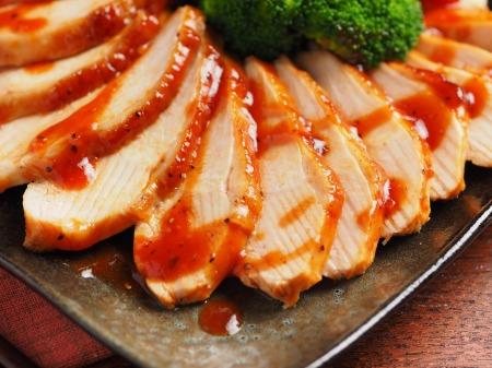 柔らか鶏むね肉の甘辛焼き07