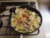 野菜炒めカレーうどん33