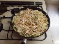 野菜炒めカレーうどん34