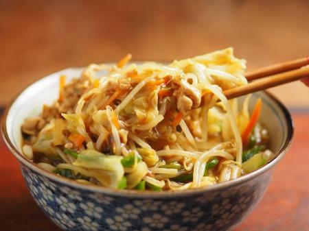 野菜炒めカレーうどん17