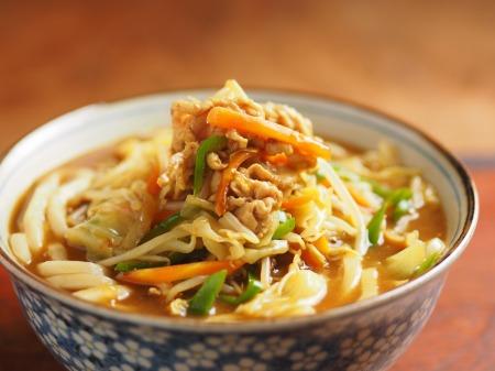 野菜炒めカレーうどん10
