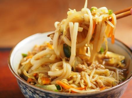 野菜炒めカレーうどん22