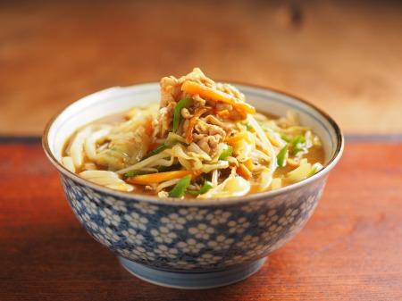 野菜炒めカレーうどん07
