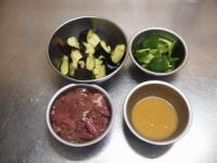 鶏レバーと茄子のマヨ味噌炒27