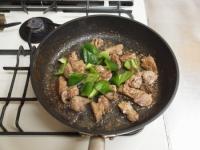 鶏レバーと茄子のマヨ味噌炒32