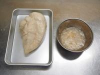 蒸し鶏と蒸し茄子の辛しごま08