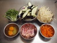 茄子ともやしのガリマヨ炒め27