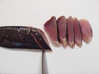 まぐろの酢締め炙り刺身29