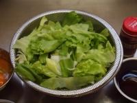 惚レタスのピリ辛ガリマヨ丼57