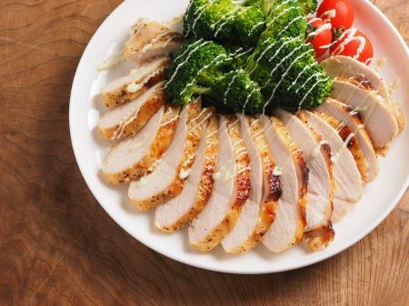 鶏むね肉のタバスコ焼き25