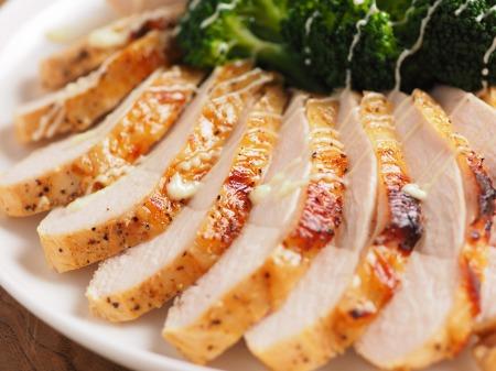鶏むね肉のタバスコ焼き50