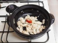鶏レバーと鶏皮のすき焼き鍋71