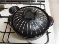 鶏レバーと鶏皮のすき焼き鍋80