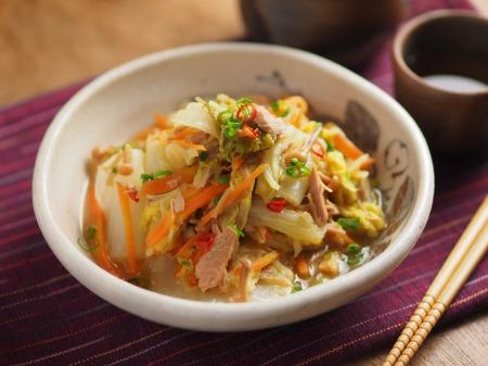 白菜とツナ缶のくたくた煮17