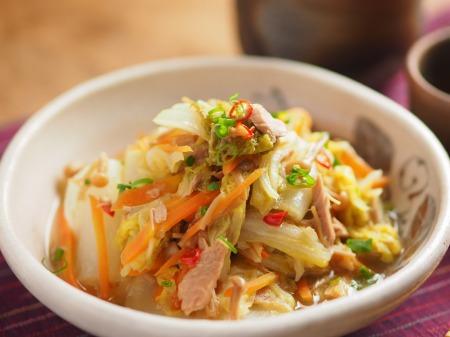 白菜とツナ缶のくたくた煮25