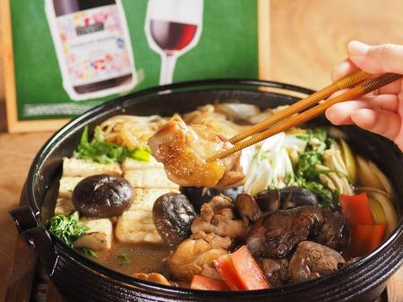 ワインで鶏すき焼き21 (2)