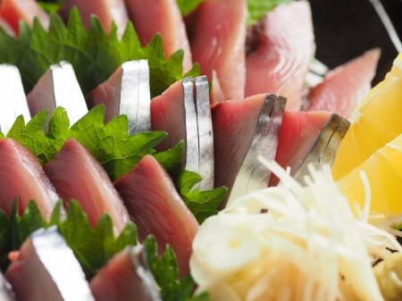 鰹の刺身11