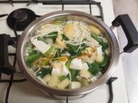 小松菜の具沢山味噌汁50