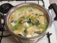 小松菜の具沢山味噌汁53