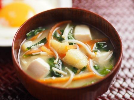 小松菜の具沢山味噌汁05