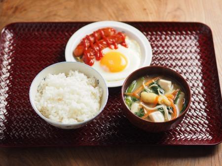 小松菜の具沢山味噌汁01