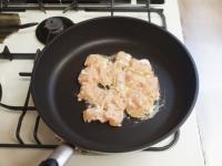 鶏むね肉と長ねぎのガーリック46