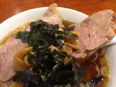 満来 チャーシュー麺