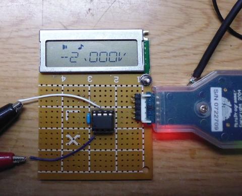 電圧表示例ADCINCVR