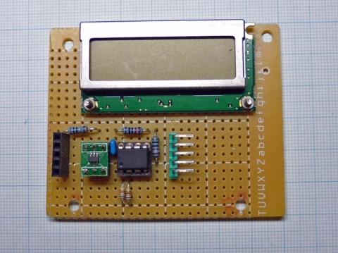 MiniProg電流計表