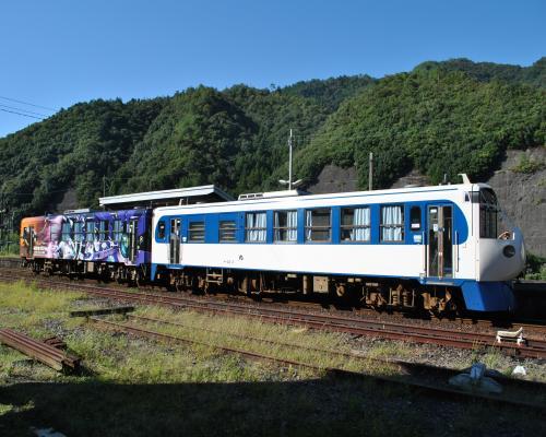 江川崎駅(復路)