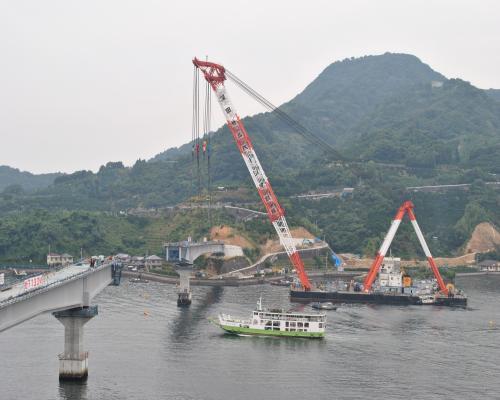 橋桁設置4