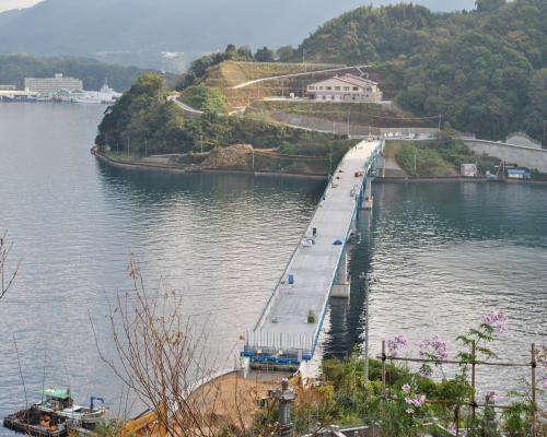 望橋園からの眺め