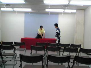 $英語落語サークル 「英楽亭」-8/9 教室 小