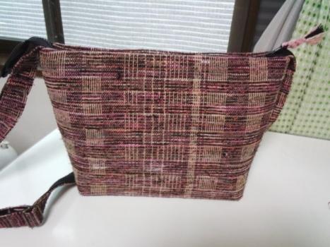 変わり網代のバッグ1