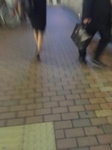 銀座_歩く姿