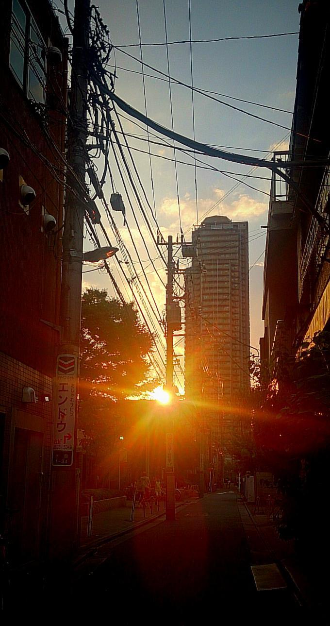 夕陽_20151004