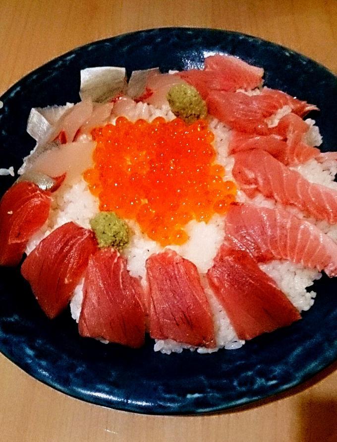 海鮮丼_20151017
