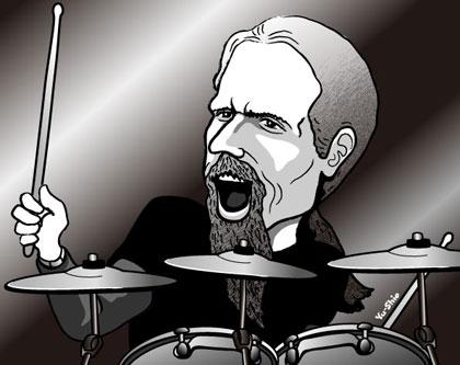 Chris Adler caricature