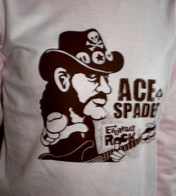 Lemmy Kilmister Motorhead T Shirt caricature