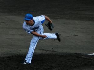 大田阿斗里投手。