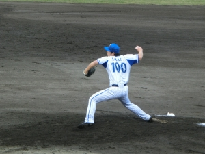 今井金太投手。