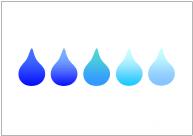 水滴のフリー素材・画像・イラスト・テンプレート