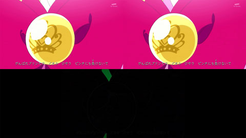 【Go!プリンセスプリキュア】OP比較[第31話・第32話]