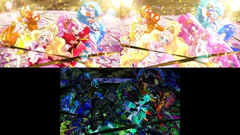 【Go!プリンセスプリキュア】ED比較[第35話・第39話]