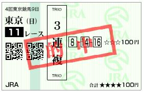天皇賞・秋3連複