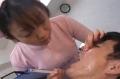 歯科医と歯科助手による唾責め治療♪